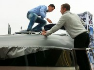 wrapping a boat or a yacht