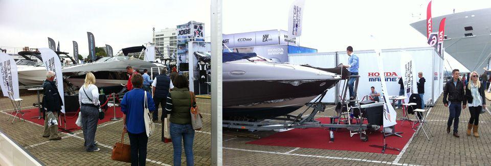 Southampton yacht wrap show event